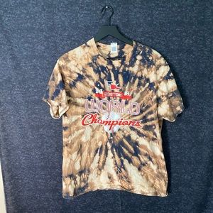Red Sox World Series Acid Washed Tee